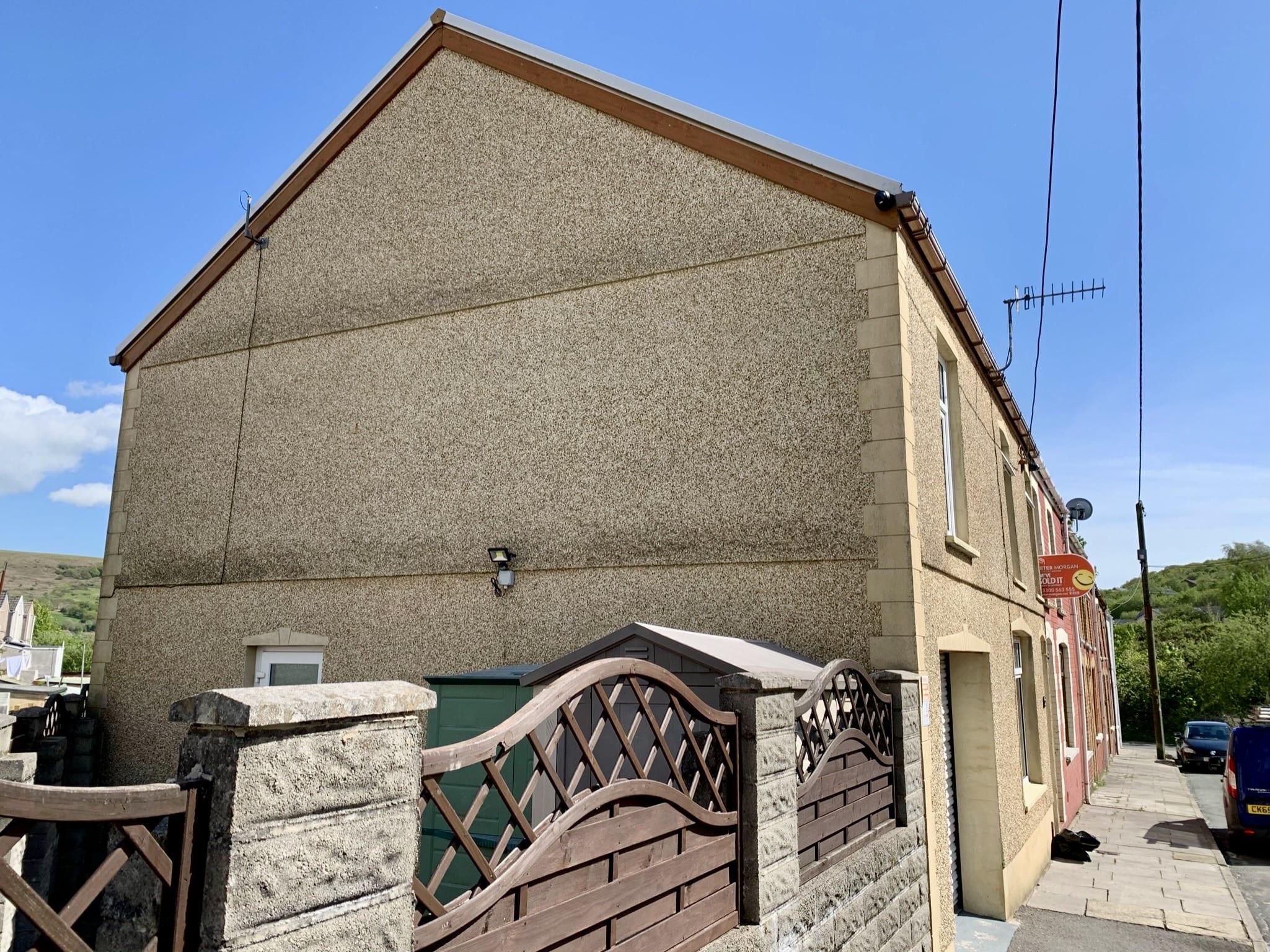 CCTV cameras on house