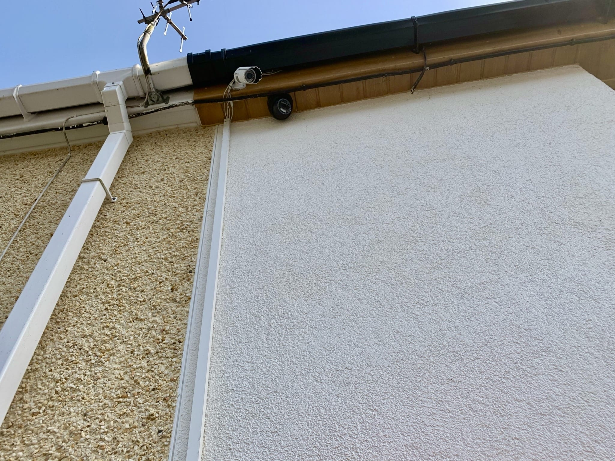 cctv camera on residential property