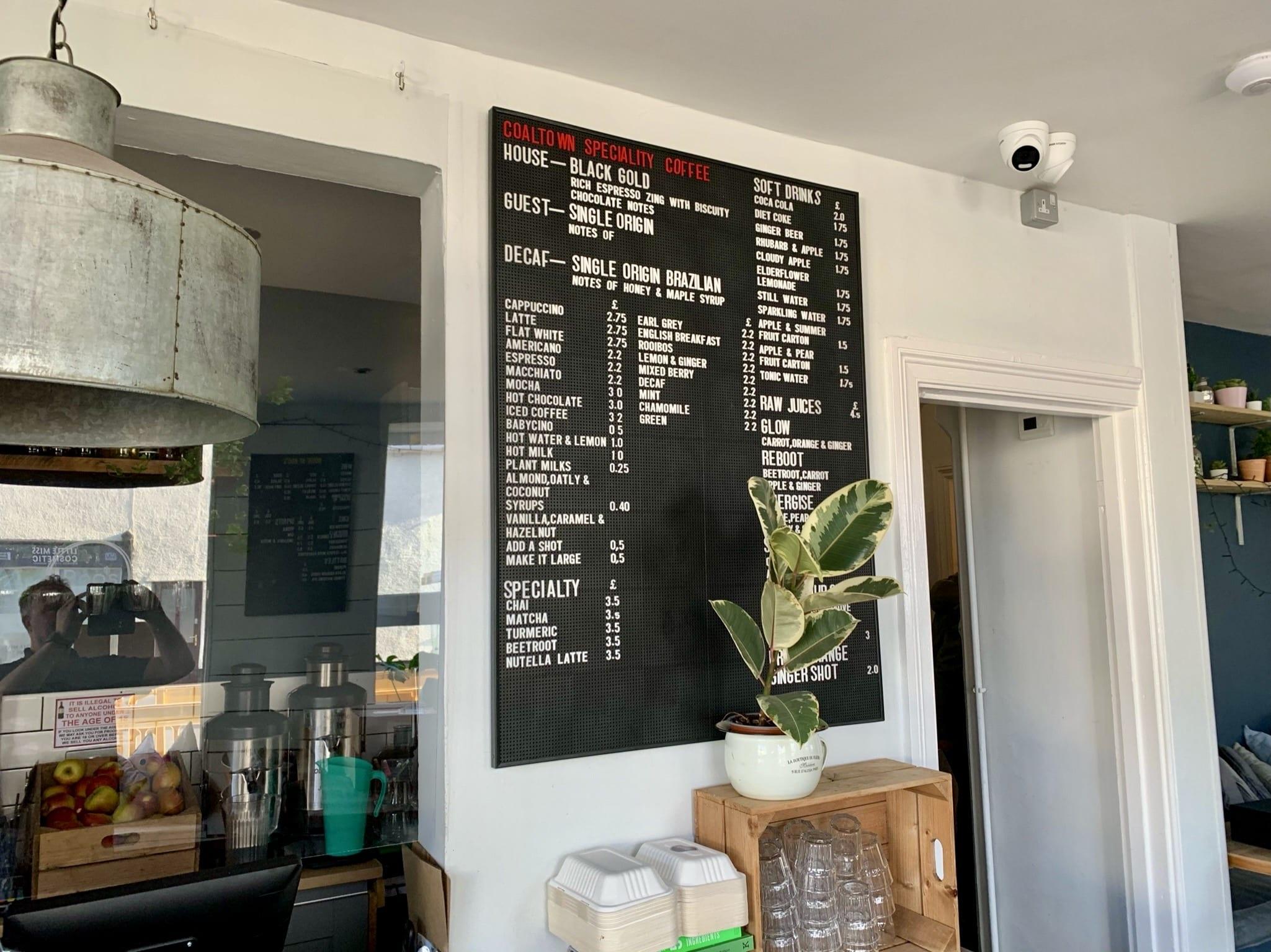 cctv inside cafe