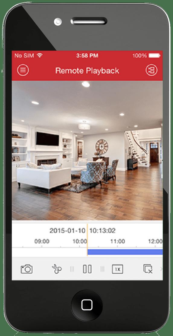 CCTV Smartphone App