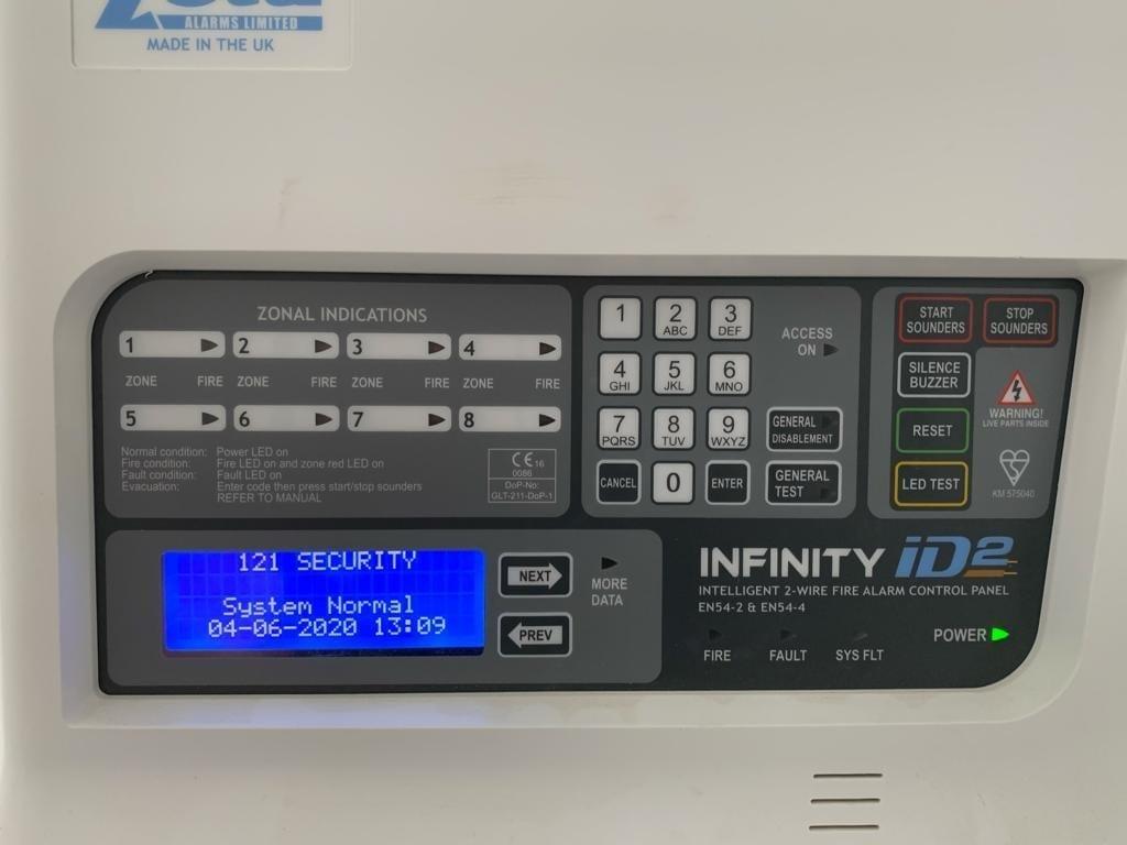 Zeta ID2 Alarm System